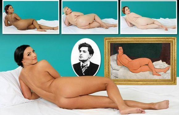 Brave Sun readers have a crack at recreating the classic pose of the Reclining Nude