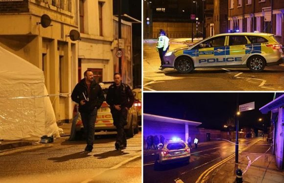 Hackney stabbing – London death toll grows as man stabbed to death just hours after other victim battered to death outside bookies