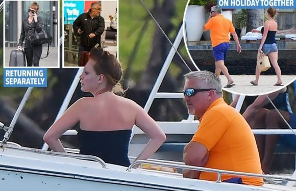 Paul Hollywood pictured for the first time on holiday with lover, 22, as it's revealed she's moved into his new country home