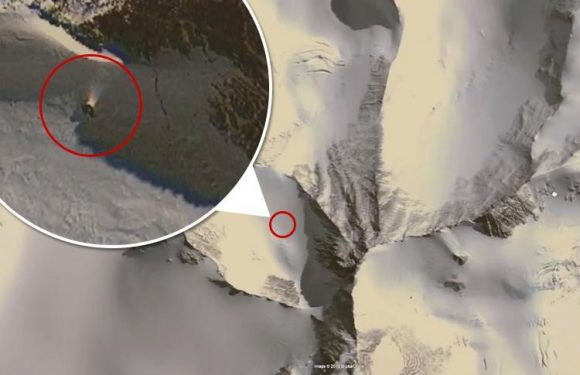 Conspiracy theorists think they've found a 'spotlight pointing to a model city' in a remote Antarctic mountain on Google Maps