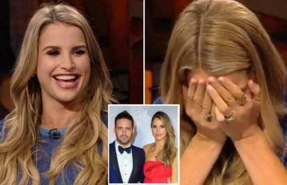 Pregnant Vogue Williams lets slip on live television that she's expecting a boy