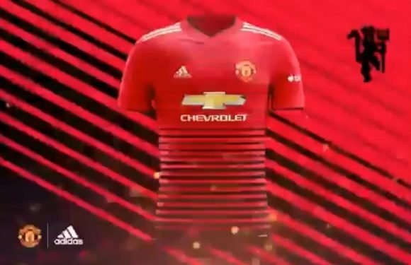 New Manchester United kit for next season 'leaked' in supposed Adidas video