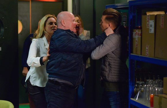 EastEnders spoilers: Phil Mitchell attacks Hunter Owen after schoolboy forces him to watch daughter Louise lose her virginity