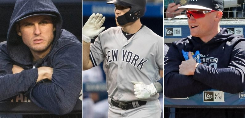 A bunch of Yankees are building steam for their returns