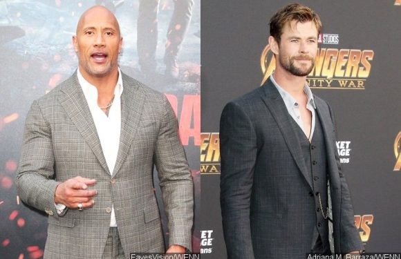 Dwayne Johnson Plans to Work With Chris Hemsworth for New Movie