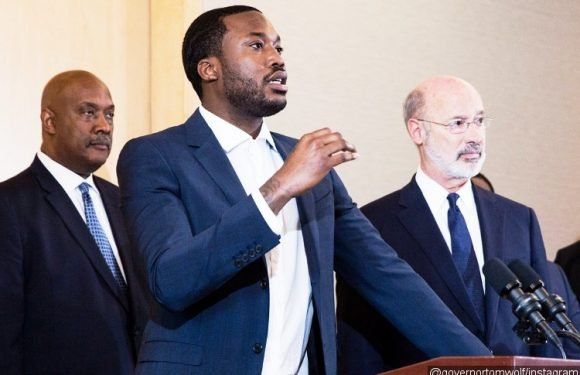 Meek Mill Teams Up With Pennsylvania Governor to Call for Criminal Justice Reform