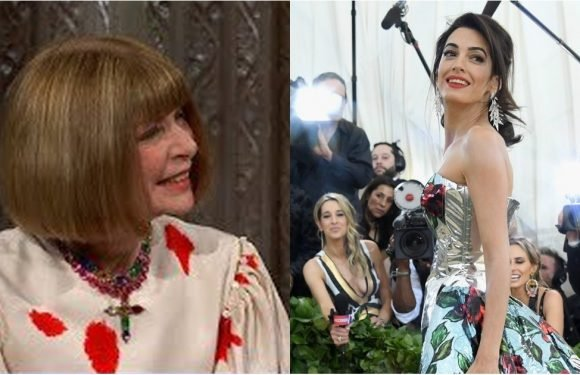 Anna Wintour Reveals Amal Clooney Changed Her Met Gala Dress in the Museum Gift Shop