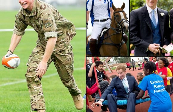 Prince Harry's Hottest Moments! – Us Weekly