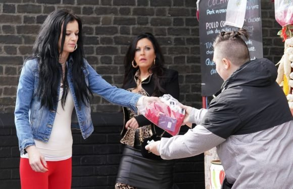 Hayley Slater causes trouble as she returns to Albert Square in EastEnders
