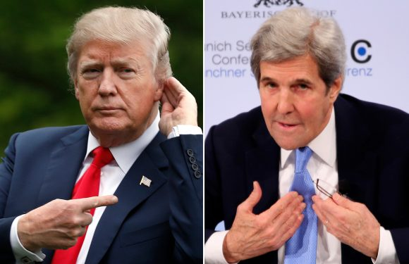 Trump blasts Kerry for trying to save Iran deal