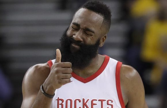 Rockets rally past Warriors to tie up series