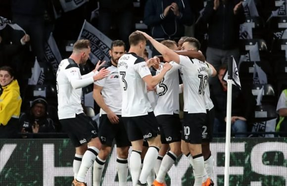 Derby County a step closer to Premier League return