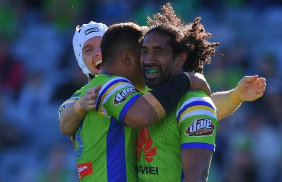 Sia Soliola committed to building Canberra Raiders' future