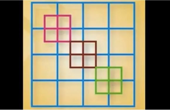 The Internet Can't Figure Out How Many Squares Are in This Photo — Can You?