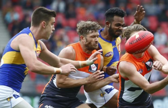 GWS struggle continues, injury toll rises in loss to West Coast