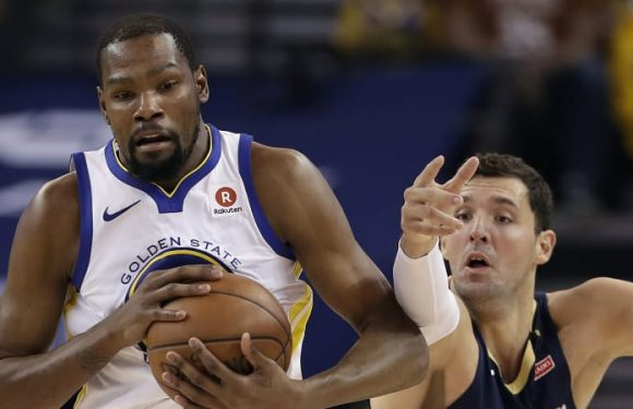 Defending champion Warriors through to final four in NBA play-offs