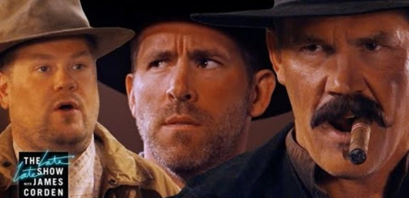 Things Get Good, Bad, and Ugly for Ryan Reynolds and Josh Brolin in This Western Spoof
