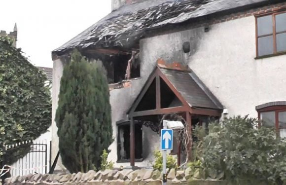 Window-fitter who burnt £320,000 marital home to the ground is jailed