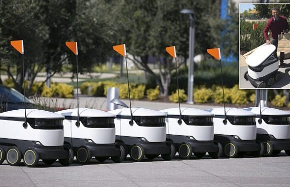 Starship Technologies' robots could deliver lunch to your desk