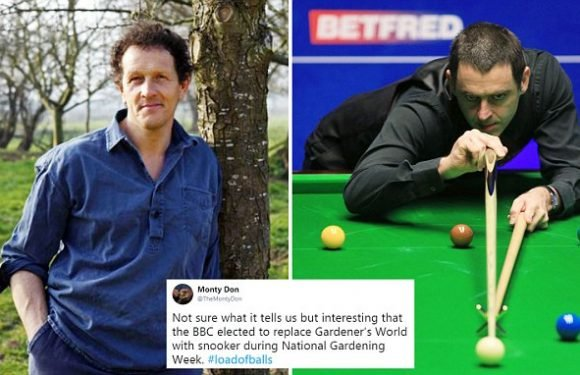 Gardeners' World presenter slams BBC for ditching his show for Snooker