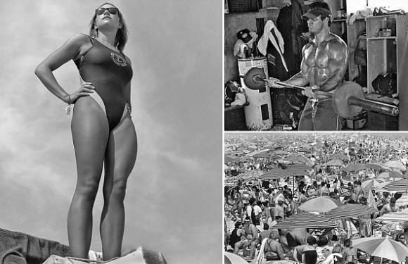 Stunning series of pictures capture life on famous Jones Beach