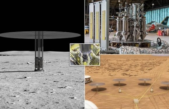 Nasa successfully tests its martian 'Kilopower' nuclear reactor
