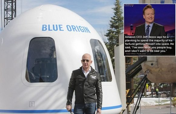Jeff Bezos will use his $131 billion fortune to fund space travel