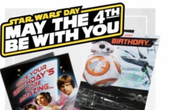 Clinton is selling Star Wars and Ed Balls Day cards