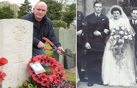 Man who spent 25 years tending grave of airman tracks down his family