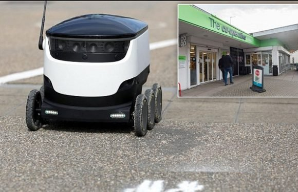Co-op is using Starship Technologies' ROBOTS in Milton Keynes