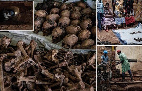 Mass grave found under house 24 years after the Rwandan genocide