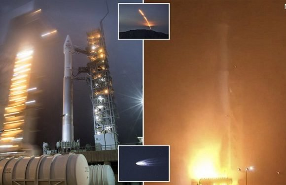We have lift off! NASA successfully launches InSight Mars probe
