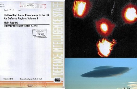 Did the Ministry of Defence dismiss evidence of aliens?