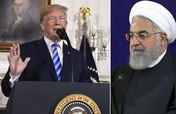 Trump pulls U.S. OUT of Iran deal calling it a DISASTER