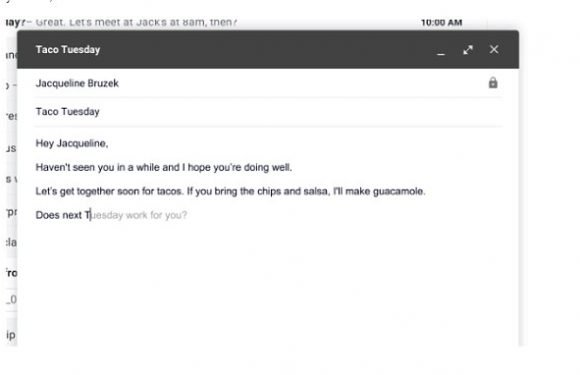 Google unveils Gmail 'Smart Compose' feature that responds to emails