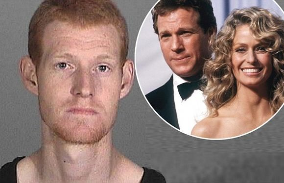 Ryan O'Neal and Farrah Fawcett son Redmond arrested for armed robbery