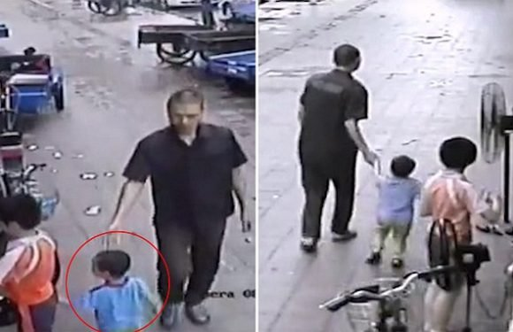 Stranger 'attempts to abduct' a boy by casually dragging him away