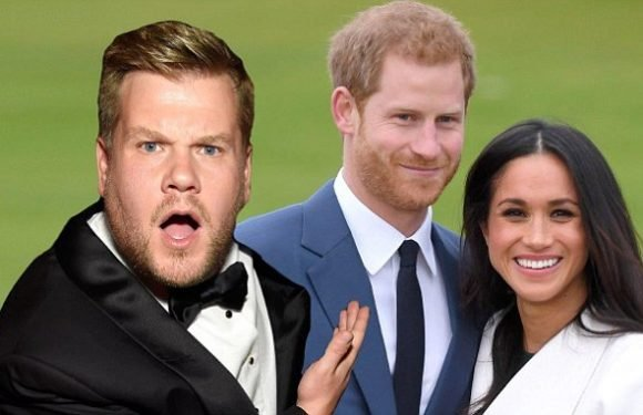 James Corden 'invited to Prince Harry and Meghan Markle's wedding'