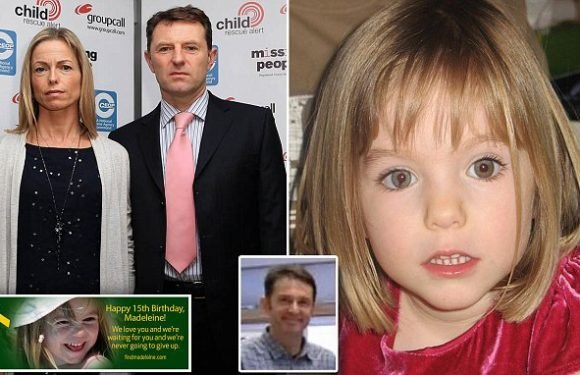 Gerry McCann played tennis with Tannerman on day Maddy went missing
