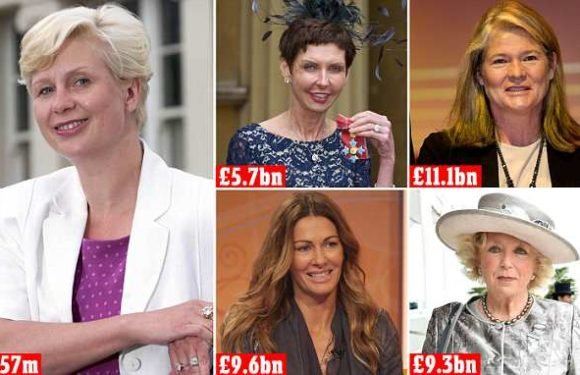 How a woman who left school at 15 soared into the Rich List
