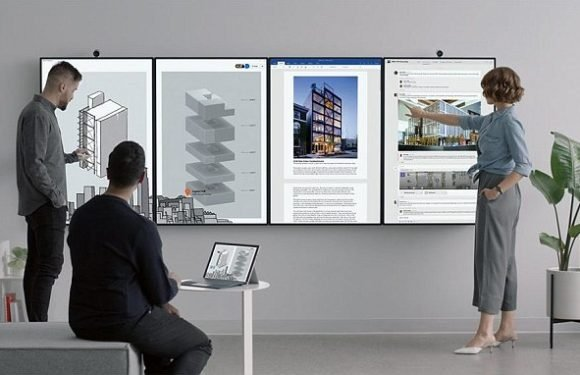 Microsoft reveals gigantic 50.5inch Surface Hub 2 touchscreen