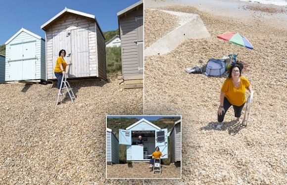 Beach hut owners furious as council refuses to replenish shingle bank