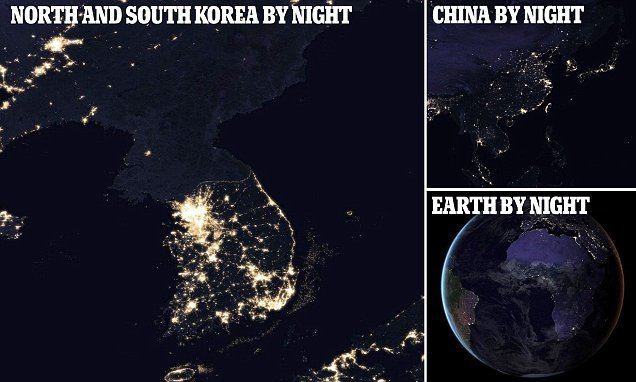 Satellite data suggests China and others are falsifying their GDP