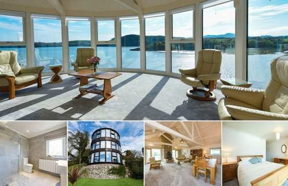 Uniquehome offering 180 degree coastline views on sale for £675,000