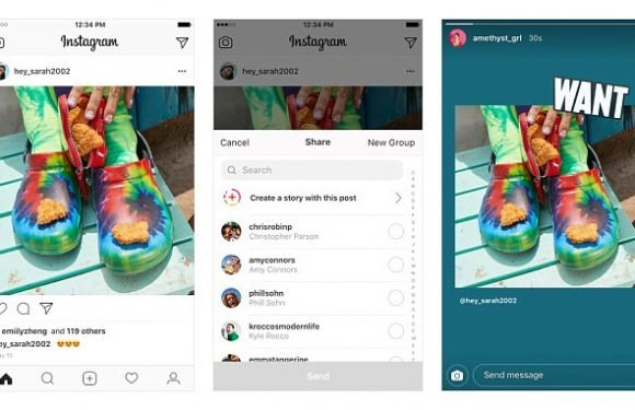 Instagram lets you share other users' posts to your own story