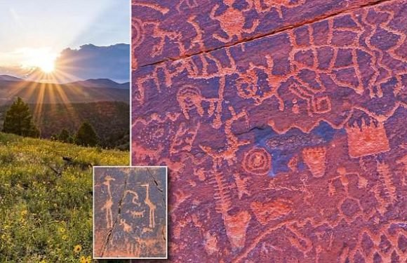 Ancient calendar carved into stone lay hidden in an Arizona valley