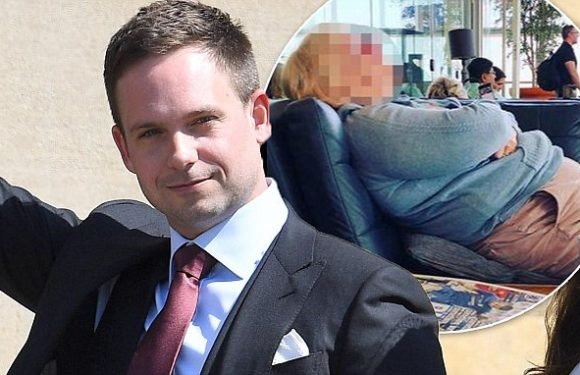 Patrick J Adams apologises for snap of woman who called him chunky