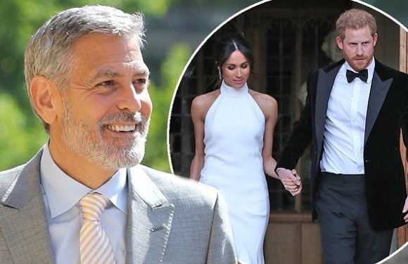 George Clooney at Royal Wedding: Actor 'jumped behind the bar'