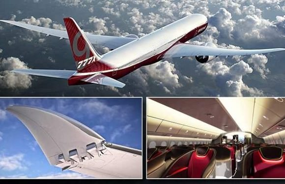 Boeing gets the go ahead for 77x megajet with folding wings
