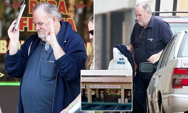 Thomas Markle is spotted dining at Chinese restaurant in California